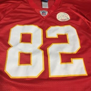 e7a1a6f5a57 Reebok Other | Kansas City Chiefs Dwayne Bowe 82 Jersey Length 2 ...